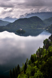 View of Lake Bled from Lake Bled Castle