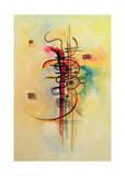Watercolour No. 326, 1928 Composition VII, 1913 Balancement Weiches Hart Mit und Gegen, c.1929 Painting Number 200 Durchgehender Strich Delicate Tension (1923) Merry Structure Mit Und Gegen