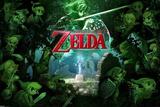 Zelda - Forest The Legend of Zelda- Stained Glass Zelda- Hyrule Map Hyrule Retro Travel Poster The Legend Of Zelda- Link D'Art Zelda- Breath of the Wild