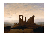 Buy The Temple of Juno, Agrigent, C. 1830 at AllPosters.com