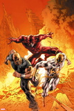 New Avengers No. 30: Iron Fist, Daredevil, Cage, Luke