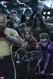 Dark Avengers No. 183: Toxie Doxie, Al Apaec, Trickshot, Skaar, Songbird, Cage, Luke