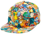 Pokemon - AOP Sublimated Cap Pokemon- Groudon & Kyogre Pokemon- Kanto 151 Pokemon- Kanto 151 pokemon