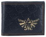 Zelda - All Over Emboss With Gold Foil Bi-Fold Wallet
