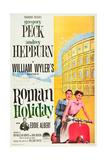 Roman Holiday, L-R: Eddie Albert, Gregory Peck, Audrey Hepburn, 1953