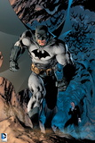 Batman: Batman Walking Powerfully, Bats Fly Behind