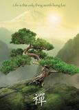 Zen - Mountain Giant Poster