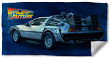 Back To The Future - Delorean Beach Towel