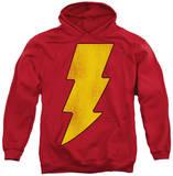 Hoodie: DC Comics - Shazam Logo Distressed