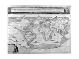 Geographic Chart of the World after the Deluge, 1675