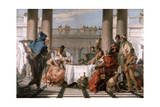 The Banquet of Cleopatra, 1743-1744