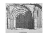 West Entrance of Temple Church, City of London, 1835