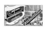 Escalator at the Pennsylvania Railroad Company