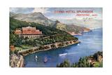 Buy Grand Hotel Splendide, Portofino, Italy, 20th Century at AllPosters.com