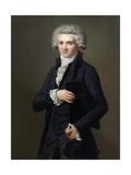Portrait of Maximilien De Robespierre (1758-179)