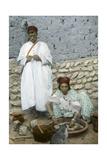 Mohamed Ben Ali and His Wife, El Kantara, Tunisia