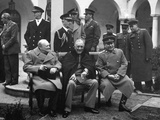 Conference of the Allied Leaders, Yalta, Crimea, USSR, February 1945