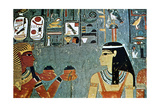 Mural from the Tombs of the Nobles, Thebes, Luxor, Egypt