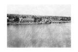 The Tigris River from the 31st British General Hospital, Baghdad, Mesopotamia, WWI, 1918