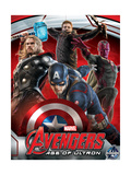 The Avengers: Age of Ultron - Captain America, Thor, Hawkeye and Vision