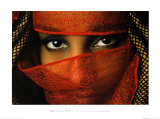 Veiled Tunisian Woman