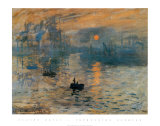 Impression, Sunrise, c.1872 Art Print