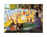 A Sunday on La Grande Jatte 1884, 1884-86 Art Print