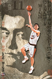 Houston Rockets Yao Ming Sports Poster Print