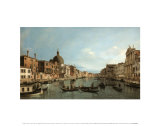 Buy Venice: the Upper Reaches of the Grand Canal with S. Simeone Piccolo, c.1738 at AllPosters.com