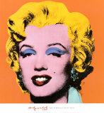 Marilyn Monroe – Orange, 1964 Kunstdruck