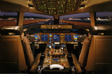 Boeing 777-200 Flight Deck Poster