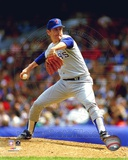 Nolan Ryan - Rangers - Pitching blue uniform