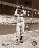 Bob Feller - Ball & glove overhead
