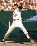 Jim Palmer - Pitching, arm back