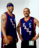 K. Martin and  J. Kidd - '04 All Star Game &copy;Photofile