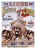 Les Lions du Nouveau Cirque