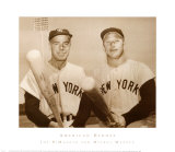 American Heroes: Joe DiMaggio and Mickey Mantle