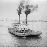 Ferry Boat on the Mississippi River