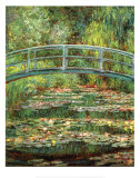 Buy Le Pont Japonais a Giverny at AllPosters.com