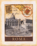 Destination Rome Art Print