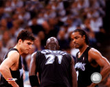 Szczerbiak/Garnett/Sprewell - '04 Group Shot ©Photofile