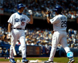 Shawn Green &amp; Adrian Beltre &copy;Photofile