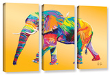 The Ride, 3 Piece Gallery-Wrapped Canvas Set
