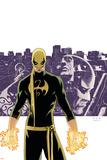 The Immortal Iron Fist No.6 Cover: Iron Fist, Randall and Orson Charging The Immortal Iron Fist: Marvel Premiere No.15 Cover: Iron Fist