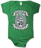 Infant: Dropkick Murphys- Horseshoe Onesie Juniors: Dropkick Murphys - Skeleton Piper Tee Star Wars- Sith Out Of Luck Dropkick Murphy's- Celtic Punk Invasion 2015 Tour (Front/Back) Around the World - Dublin Football Super Mario- Running Blocks Irish Clover Juniors: Guinness - About Time Long Sleeve: Shamrock Suit Costume Tee Superman - Green & White Shield Guinness - Liverpool Bottle Thin Lizzy - Four Leaf Clover