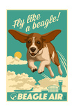 Beagle - Retro Aviation Ad