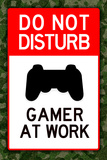 Do Not Disturb Gamer at Work Video PS3 Game Poster Do Not Disturb Gamer at Work Video PS3 Game Poster Do Not Disturb!, c.1996 do+not+disturb