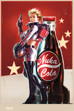 Fallout 4- Nuka Cola Pin Up The Last of Us Minecraft- World