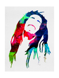 Bob Watercolor Bob Marley-Flag Bob Marley Excuse Me