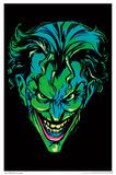 Batman- Neon Joker Blacklight Poster Batman- The Killing Joke Cover Joker Batman Comic - Joker Bats Joker